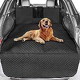 Vailge Kofferraumschutz Hunde, Hundedecke Auto Kofferraum Kofferraummatte für Hund Reißfest Wasserdichter Kofferraumschutzmatte Hundedecke für Auto Rückbank Abwaschbar Kofferraumdecke Hund für SUV Van