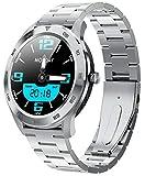 INDYGO DT98 Bluetooth Smart Watches, Fitness Tracker, 3,3 cm Full Touch Farbbildschirm, IP68 Wasserdicht mit Herzfrequenz/Schlaf-Monitor, Schrittzähler, Stoppuhr