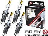 Brisk Iridium Premium+ Plus P41622Zündkerzen, 4-teilig