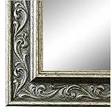 Online Galerie Bingold Spiegel Wandspiegel Silber 60 x 100 cm - Barock, Antik, Landhaus, Vintage - Alle Größen - Massiv - Holz - AM - V
