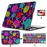 Air Case Kreative Kunst Geometrische Mode Dot Laptop Hardcase Hard Shell Mac Air 11'/ 13' Pro 13'/ 15' / 16'Mit Notebook-Ärmeltasche Für MacBook 2008-2020 V