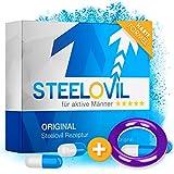 *𝗘𝗜𝗡𝗙Ü𝗛𝗥𝗨𝗡𝗚𝗦𝗣𝗥𝗘𝗜𝗦* Steelovil 2.0 | Für aktive Männer | LIMITIERT Erhältlich I Mit Tribulus Terrestris Extrakt und M