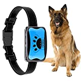 Anti Bell Halsband Automatisch,YIZHIGOU Erziehungshalsband Hund ,Anti-Bell-Halsbänder No-Schock Geeignet für kleine und mittelgroße Hunde,Wasserdicht wiederaufladbar