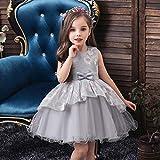 Baby Kleid Prinzessin Kleid 2021 Baby ein Jahr alt Kleid Bogen Baby und Kleinkind Spitze Overall