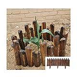 Gartenzaun, Holzzaun für Gartengemüse Gartendekorationszaun, Erdungsstecker Installationsfirma Holz, Bauernhausstil