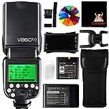 GODOX V860IIO Speedlite Flash 2,4G HSS 1/8000S GN60 2000mAh Ving Li-ion Akku TTL Kamera Blitz Blitzgerät für Olympus Panasonic DSLR Kamera (V860II-O)
