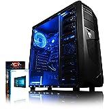 VIBOX Vision 2 Gaming PC Computer mit War Thunder Spiel Bundle (3,9GHz AMD A4 Dual-Core Prozessor, Radeon 8370D Grafik Chip, 8Go DDR3 1600MHz RAM, 1TB HDD, Ohne Betriebssystem)