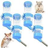 BKJJ Wasserspender für Hamster Hamster Wasserflasche Kaninchen Pet Waterer Trinkflasche Geeignet für Kleintiere Meerschweinchen, Eichhörnchen Nagertrinkflasche 4 Stück