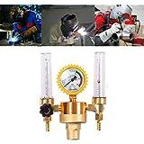 zrshygs Doppelrohr-Argonregler Genaues Gasmesssystem für breiteres Gas