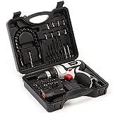 FYYONG DIY. Reparatur-Werkzeug, tragbare Hardware-Tools Akku-Bohrschrauber Mini Haushalt weiche Schaft-Set High Power Schraubendreher Elektrischer