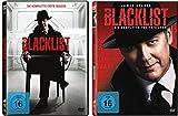 The Blacklist - die komplette Staffel 1+2 im Set - Deutsche Originalware [11 DVDs]