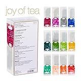 Ronnefeldt Joy of Tea Box, Tee Probierset / Tee Geschenk 'Twelve Delights', 33,8 g