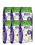 6 x Slendier Bio Konjak Nudeln   Noodle-Style   Kalorienarm   Shirataki   Quelle für Ballaststoffe   Glutenfrei   6 x 250 g