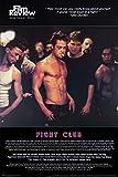 1art1 Fight Club - Brad Pitt, Film Review Collection (Fight Scene) Poster 91 x 61 cm