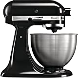 KitchenAid CLASSIC 4,3 L-Küchenmaschinen mit kippbarem Motorkopf, 4.3 L, schw