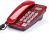 DIHAO Schnurgebundenes Telefon Hotel Hauswand Mini kleines Festnetz kostenlose Batterie Schnurgebundenes analoges Telefon,B