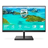Philips 275E1S - 27 Zoll QHD Monitor, FreeSync (2560x1440, 75 Hz, VGA, HDMI, DisplayPort) schwarz