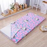 Futon Matratze, japanische Bodenmatratze Pad Verdicken Tatami Matte Schlafen Faltbare Rollmatratze Matte Atmungsaktiv Langlebige Matratze Dicke 4 cm/C / 1,8x2,0 m