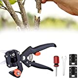 YANSQH Garten Pfropfschere Schere Obstbäume Pfropfen Schneidwerkzeug, Ersatzmesser Schneidwerkzeug Set für Blumen Obstbäume Zweige, Einfach zu verwenden