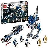 LEGO 75280 Star Wars Clone Troopers der 501. Legion, Bauset mit Kampfdroiden und AT-RT Walk