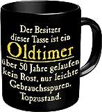 Fun Tasse mit Spruch - Oldtimer zum 50. Geburtstag - 50 J