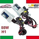Paar Lampen Birnen Kit Xenon Xenon H155W 4300K 12V Leuchtmittel Licht HID Ersatz Scheinwerfer