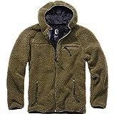 Brandit Teddyfleece Worker Jacket, Oliv, Größe S