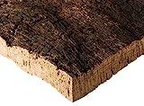 Kork Rinde | Kork Platte | Kork Stücke aus Naturkork der Korkeiche | 30 x 40 x 3 cm | unbehandelt & natürlich | Rohware der Korkrinde | thermisch desinfiziert | Ideal für Terrarium | für Nager & Vög