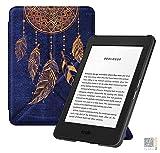 Leido ebook Hülle für das Neue Amazon Kindle Basic 10th Generation 2019 | Origami Smart Case