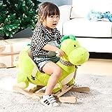 Schaukelpferd Schaukeltier Schaukelspielzeug Rocking Horse Kleinkind Schaukelstuhl Plüsch Rocker Spielzeug Kleinkind Schaukeln Tiergriff Griff Holz Kleinkind Rocker Kleinkind Baby Spielzeug