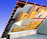Dachdämmung Dämmung Dämmpaket für ca. 120 m² Dachausbau - Klemmfilz WLG 035 in 200 mm