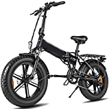 Elektrofahrrad, 500w Folding Electric Bike Erwachsene Mountain E Bike mit 48v12.5a Lithium-Batterie-elektrisches Fahrrad 7-Gang-Gangwechsel mit Elektroschloss Schnellen Akku Ladegerät,Fahrrad