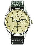 Gustav Becker 1963 Herren-Armbanduhr im Vintage-Stil mit Seagull ST1780