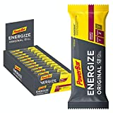 PowerBar Energize Original Berry 25x55g - High Carb Energieriegel + C2MAX Magnesium und Natrium