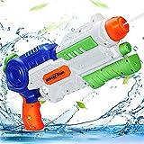 Ucradle Wasserpistole Spielzeug, 1200ML Wasserpistolen groß mit 8-10 Meter Reichweite für Kinder und Erwachsene, Water Gun Water Blaster für Sommerpartys, Strand, Pool, Garten Strandspielzeug