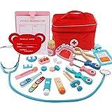 Kinder Arztkoffer Spielzeug, Doktorkoffer zum Rollenspiel, Arzt Medizinisches Spielset Spielzeug Kinder, Arzt Set Kinder über 3 Jahre