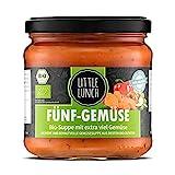 Little Lunch Bio Eintopf Fünf Gemüse   350ml   100% Bio-Qualität   Vegetarisch   Ohne zugesetzten Zucker   Glutenfrei   Keine künstlichen Zusätze   Ohne Geschmacksverstärker