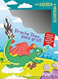 Mein Zaubermalbuch - Drache Theo ganz groß | Zaubertafel mit Stift | Für Kinder ab 3 Jahren