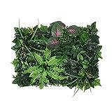 SHWYSHOP Künstliche Blatthecken Gartenzaun Brett Simulation Pflanze Wand Grün Pflanze Wanddekoration Pflanze Hintergrund Wanddekoration