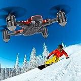 RC Quadcopter High Definition Quadcopter RC Drohne Optische Durchflusspositionierung für Anfänger und Kinder(4K Wide-Angle Camera)