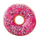 Haushalt & Wohnen PINEsong Weicher Plüsch Kissen gefüllte Sitzpolster Sweet Donut Foods Kissenbezug Koffer Spielzeug (O) (E)