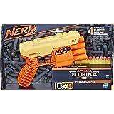 Hasbro E6973 QS-4 Nerf Alpha Strike Spielzeug-Blaster - inklusive zehn Nerf Elite Darts - für Kinder, Teenager, Erwachsene