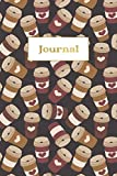 Journal: Diary Notebooks for Teen Girls Women, A5 Lined College Ruled Notebook Journals to Write in, Coffee Latte or Cappuccino Espesso Lover G