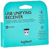 Logitech® USB Unifying Empfänger - Schwarz