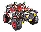 A ALEXANDER 1270 Constructor Ranger Schwarze Spinne Metall Bausatz, 354 Teile Metallbaukasten, Metallbausatz mit Geländewagen und Kunststoff Elementen, Konstruktionsspielzeug für Kinder ab 8 Jahren