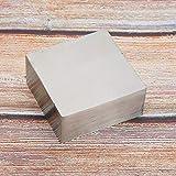 Verarbeitungswerkzeug Zubehör 6,3 x 6,3 x 2,8 cm Schmuckwerkzeug Schmuck Werkbank Block Eisenschmuck Herstellung reibungsloser Oberflächenreparaturringe
