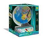 Clementoni 61739 Sprechender Erkunden pädagogisch Kinder – Globus Welt – interaktives Spielzeug – englische Version