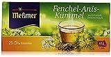 Meßmer Fenchel-Anis-Kümmel Kräutertee, 25 Teebeutel, 50 g