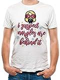T-Shirt (Unisex-Xl) Nargles (White)