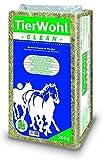 Hanfeinstreu Ballen Pferdeeinstreu - TierWohl CLEAN Hanf ist für allergische und sensible Pferde, 1er Pack (1 x 20 kg)